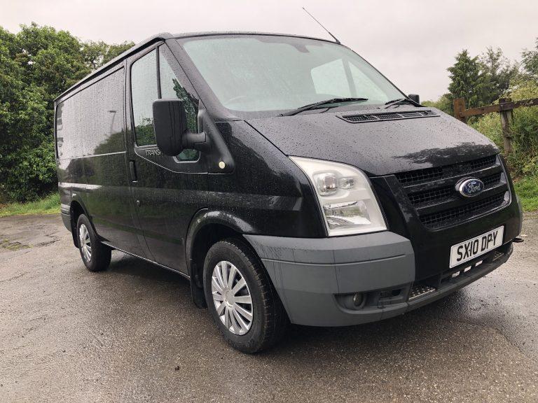 transit van for sale in black